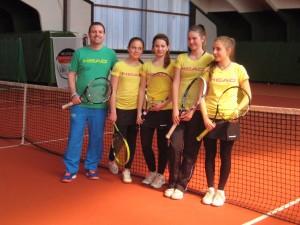 TSV-Tennisfreizeit mit den Juniorinnen U18 in Oberaudorf, 2015