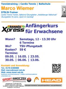 Bild-TennisXpressKurs