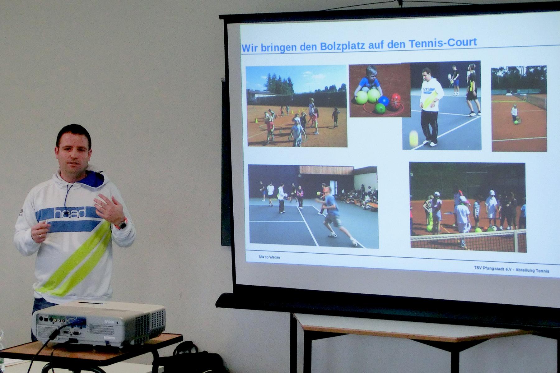 Rückblick zur Fortbildungsveranstaltung des Tenniskreis Darmstadt
