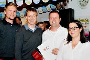 vereinsinterne Ehrung HTV-Vereinstrainer des Jahres 2015